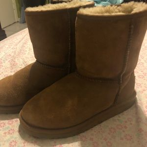 UGG Australia boot, cleaning out my closet.